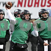 Rob Winner – rwinner@shawmedia.com<br /> <br /> Northern Illinois quarterback Jordan Lynch throws a pass during practice at Huskie Stadium in DeKalb, Ill., Saturday, Dec. 8, 2012.