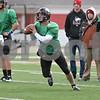 Rob Winner – rwinner@shawmedia.com<br /> <br /> Northern Illinois quarterback Jordan Lynch looks to pass during practice at Huskie Stadium in DeKalb, Ill., Saturday, Dec. 8, 2012.