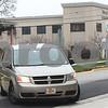 Kyle Bursaw – kbursaw@shawmedia.com<br /> <br /> A van brings Jack McCullough from the DeKalb County Jail to the DeKalb County Courthouse across the street for his sentencing on Monday, Dec. 10, 2012.