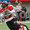 Rob Winner – rwinner@shawmedia.com<br /> <br /> Northern Illinois linebacker Michael Santacaterina intercepts a pass during practice at Huskie Stadium in DeKalb, Ill., Saturday, Dec. 8, 2012.