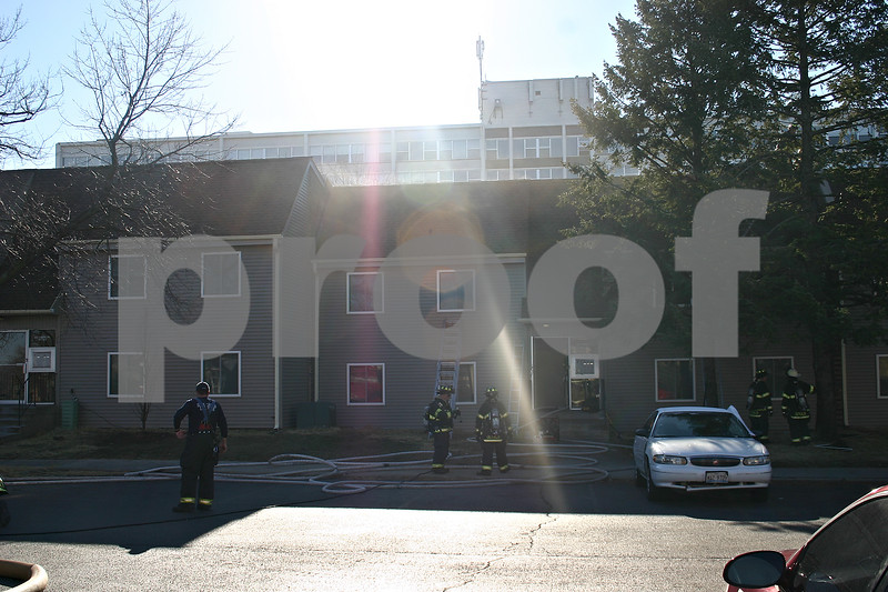 DeKalb firefighters are investigating the cause of a structure fire at University Village complex at 821 Crane Drive. There were no injuries.