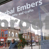 Kyle Bursaw – kbursaw@shawmedia.com<br /> <br /> A man walks by Herbal Embers, a gift shop in downtown DeKalb, Ill. on Friday, Dec. 7, 2012.