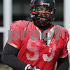 Rob Winner – rwinner@shawmedia.com<br /> <br /> Northern Illinois defensive tackle Ken Bishop during practice at Huskie Stadium in DeKalb, Ill., Saturday, Dec. 8, 2012.
