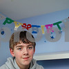 Kyle Bursaw – kbursaw@shawmedia.com<br /> <br /> Riley Marks, pictured Tuesday, Dec. 11, 2012 in his DeKalb bedroom, will celebrate his twelfth birthday on 12/12/12.