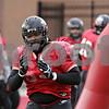 Rob Winner – rwinner@shawmedia.com<br /> <br /> Northern Illinois defensive tackle Ken Bishop participates in a drill during practice at Huskie Stadium in DeKalb, Ill., Saturday, Dec. 8, 2012.