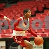 Rob Winner – rwinner@shawmedia.com<br /> <br /> Northern Illinois freshman point guard Travon Barker moves the ball during practice at the Convocation Center in DeKalb, Ill., Thursday, Nov. 29, 2012.