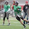 Rob Winner – rwinner@shawmedia.com<br /> <br /> Northern Illinois quarterback Matt Williams looks to pass during practice at Huskie Stadium in DeKalb, Ill., Saturday, Dec. 8, 2012.