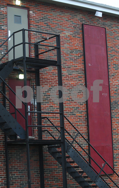 Kyle Bursaw – kbursaw@shawmedia.com<br /> <br /> A sign on the side of 1020 W. Hillcrest used to read 'PIKES' but all the labels of the Pi Kappa Alpha fraternity have been taken down from the building where NIU freshman David Bogenberger died in DeKalb, Ill. in early November, pictured on Monday, Dec. 17, 2012,