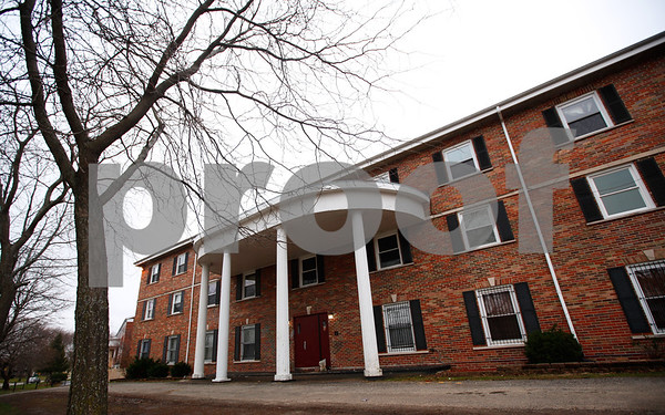 Kyle Bursaw – kbursaw@shawmedia.com<br /> <br /> 1020 W. Hillcrest, pictured on Monday, Dec. 17, 2012, former home to the Pi Kappa Alpha fraternity where NIU freshman David Bogenberger died in DeKalb, Ill. in early November.