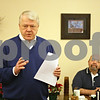 Rob Winner – rwinner@shawmedia.com<br /> <br /> Jim Morel, vice president of the Kiwanis Club of DeKalb, speaks about DeKalb Kiwanis Park at the Lincoln Inn Restaurant on Friday, Dec. 28, 2012. Morel wants to see the park maintained to benefit the children of the community.