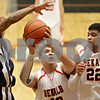 Rob Winner – rwinner@shawmedia.com<br /> <br /> DeKalb's Jake Smith (40) tries to get a shot up in the fourth quarter at the Chuck Dayton Holiday Tournament in DeKalb, Ill., Thursday, Dec. 27, 2012. Thornridge defeated DeKalb, 64-66.