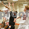 Rob Winner – rwinner@shawmedia.com<br /> <br /> DeKalb's Rudy Lopez (25) puts up a shot in the first quarter against Harlem at the Chuck Dayton Holiday Tournament in DeKalb, Ill., Saturday, Dec. 22, 2012.