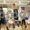 Rob Winner – rwinner@shawmedia.com<br /> <br /> Hinckley-Big Rock's Andrew Klambauer (13) puts up a shot good for two in the third quarter at the Plano Holiday Classic in Plano, Ill., Wednesday, Dec. 26, 2012. H-BR defeated Wilmington, 88-64.