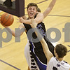 Rob Winner – rwinner@shawmedia.com<br /> <br /> Hinckley-Big Rock's Mitch Ruh (22) takes a shot in the first quarter at the Plano Holiday Classic in Plano, Ill., Wednesday, Dec. 26, 2012. H-BR defeated Wilmington, 88-64.