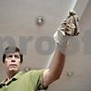 Rob Winner – rwinner@shawmedia.com<br /> <br /> Dan Peterson holds his Egyptian Fruit Bat during his Incredible Bats presentation at Haish Gym in DeKalb Saturday afternoon.<br /> <br /> Saturday, Oct. 20, 2012