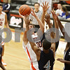 Rob Winner – rwinner@shawmedia.com<br /> <br /> DeKalb's Jake Carpenter (30) attempts a shot in the third quarter at the Chuck Dayton Holiday Tournament in DeKalb, Ill., Thursday, Dec. 27, 2012. Thornridge defeated DeKalb, 64-66.