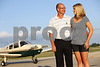 David Dirienzo and his daughter Morgan, 17, are both attaining their private pilots licenses through Fly America at the DeKalb Taylor Municipal Airport. David is pursuing it as a hobby, and Morgan, an incoming senior at Sycamore High School, aspires to be a commercial pilot. (Kyle Bursaw - kbursaw@shawmedia.com)