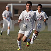Rob Winner – rwinner@shawmedia.com<br /> <br /> Genoa-Kingston's Devon Tijerina (10) chases after a ball during the first half in Genoa Wednesday, Aug. 29, 2012. G-K defeated Winnebago, 2-1.