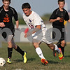 Rob Winner – rwinner@shawmedia.com<br /> <br /> Genoa-Kingston's Denon Tijerina (10) controls a ball during the second half in Genoa Wednesday, Aug. 29, 2012. G-K defeated Winnebago, 2-1.