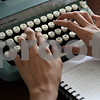 Rob Winner – rwinner@shawmedia.com<br /> <br /> Ariel Finney uses a typewriter to format one of three poems that will be displayed at the Ben Gordon Center Art Therapy Show in DeKalb from July 23 to 27.<br /> <br /> DeKalb, Ill.<br /> Wednesday, July 18, 2012