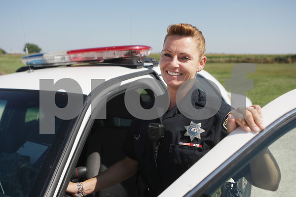 Rob Winner – rwinner@shawmedia.com<br /> <br /> Cortland Police officer Kimberly Everhart was recently recognized as Law Officer of the Year by Grand du Illinois after saving the lives of two people during a home invasion in 2011.