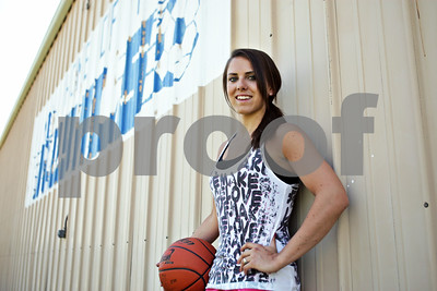 Rob Winner – rwinner@shawmedia.com  Hinckley-Big Rock's Kaitlin Phillips is the Daily-Chronicle's 2012 female athlete of the year.  Hinckley, Ill. Thursday, June 7, 2012