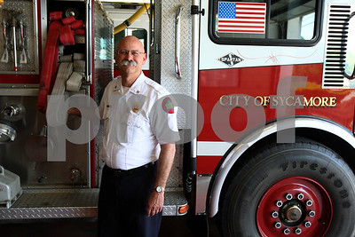 Kyle Bursaw – kbursaw@shawmedia.com  Pete Polarek has been named the new chief of the Sycamore Fire Department.  Taken Thursday, May 17, 2012.