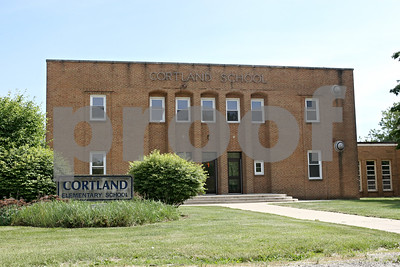 Rob Winner – rwinner@shawmedia.com  The old Cortland Elementary School building as seen on Wednesday, May 23, 2012.