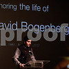 Kyle Bursaw – kbursaw@shawmedia.com<br /> <br /> Anthony Buda, president of NIU's Interfraternity Council, speaks at a memorial gathering for student and Pi Kappa Alpha pledge David Bogenberger in the Carl Sandburg Auditorium in the Holmes Student Center on Wednesday, Nov. 7, 2012.