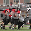 Rob Winner – rwinner@shawmedia.com<br /> <br /> Northern Illinois quarterback Jordan Lynch (6) carries the ball for a 6-yard gain during the second quarter in DeKalb, Ill., Saturday, Nov. 3, 2012. NIU defeated Massachusetts, 63-0.
