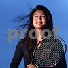 Kyle Bursaw – kbursaw@shawmedia.com<br /> <br /> Sycamore's Angelina Ye is the Daily Chronicle's 2012 girls tennis player of the year.<br /> <br /> Taken at Sycamore High School on Thursday, Oct. 25, 2012.