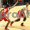 Kyle Bursaw – kbursaw@shawmedia.com<br /> <br /> Natecia Augusta (right) makes a move as teammate Shaakira Haywood defends during practice in the Convocation Center on Thursday, Nov. 1, 2012.