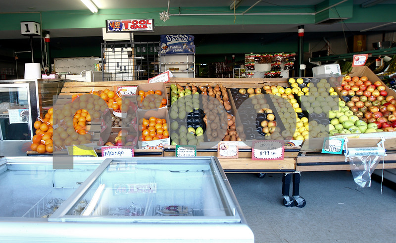 Kyle Bursaw – kbursaw@shawmedia.com<br /> <br /> Genoa Produce Carniceria (pictured) recently closed along with the Genoa Browns' County Market, leaving no grocers left in Genoa.<br /> <br /> Photographed on Tuesday, Nov. 13, 2012.