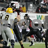 Rob Winner – rwinner@shawmedia.com<br /> <br /> Northern Illinois quarterback Jordan Lynch (6) looks to pass during the first quarter in DeKalb, Ill., Wednesday, Nov. 14, 2012. NIU defeated Toledo, 31-24.