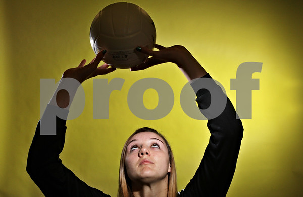 Rob Winner – rwinner@shawmedia.com<br /> <br /> Ratasha Garbes of Sycamore is the Daily Chronicle's 2012 volleyball player of the year.<br /> <br /> DeKalb, Ill.<br /> Friday, Nov. 9, 2012