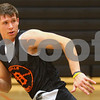 Kyle Bursaw – kbursaw@shawmedia.com<br /> <br /> DeKalb's Jake Carpenter hustles down the court during practice on Wednesday, Nov. 7, 2012.