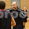 Kyle Bursaw – kbursaw@shawmedia.com<br /> <br /> Kaneland coach Brian Johnson instructions his players on an offensive scheme during practice on Thursday, Nov. 8, 2012.