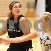 Kyle Bursaw – kbursaw@shawmedia.com<br /> <br /> Kaneland's Brooke Harner looks for a shot as teammate Sarah Grams defends her during practice at Kaneland High School on Tuesday, Oct. 30, 2012.