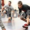 Kyle Bursaw – kbursaw@shawmedia.com<br /> <br /> DeKalb's Parker Stratton warms up at the start of practice on Tuesday, Nov. 20, 2012.