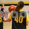 Kyle Bursaw – kbursaw@shawmedia.com<br /> <br /> Sycamore's Jessica Mollman passes to a teammate during practice on Thursday, Nov. 1, 2012.