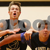 Kyle Bursaw – kbursaw@shawmedia.com<br /> <br /> Kaneland's Dan Miller (left) tries to get around teammate Tom Van Bogaert as the two fight for a rebound during a drill at practice on Thursday, Nov. 8, 2012.