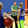 Kyle Bursaw – kbursaw@shawmedia.com<br /> <br /> Genoa-Kingston coach Kyle Henkel instructs players on a drill during practice on Monday, Oct. 29, 2012.