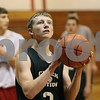 Rob Winner – rwinner@shawmedia.com<br /> <br /> Indian Creek's Tyler Reynolds takes a shot during practice in Shabbona Wednesday, Nov. 7, 2012.