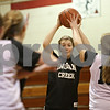 Rob Winner – rwinner@shawmedia.com<br /> <br /> Indian Creek's Kate Thuestad looks to pass during practice in Shabbona Wednesday, Oct. 31, 2012.