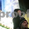 Rob Winner – rwinner@shawmedia.com<br /> <br /> Landon Farr, 3, of DeKalb, and his father Justin Farr await the arrival of Santa Claus outside the Egyptian Theatre in downtown DeKalb, Ill., Thursday, Nov. 29, 2012.