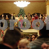 Rob Winner – rwinner@shawmedia.com<br /> <br /> Madrigal singers from DeKalb High School entertain a crowd inside the Egyptian Theatre before the arrival of Santa Claus in downtown DeKalb, Ill., Thursday, Nov. 29, 2012.