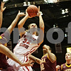 Rob Winner – rwinner@shawmedia.com<br /> <br /> Northern Illinois' Aksel Bolin (32) takes a shot during the first half of a game against Loyola in DeKalb, Ill., Saturday, Nov. 24, 2012. Loyola defeated NIU, 53-46.