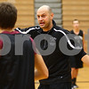 Kyle Bursaw – kbursaw@shawmedia.com<br /> <br /> Kaneland coach Brian Johnson instructions his players on an offensive scheme during practice on Thursday, Nov. 8, 2012.
