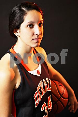 Rob Winner – rwinner@shawmedia.com<br /> <br /> DeKalb's Rachel Torres<br /> <br /> DeKalb, Ill.<br /> Friday, Nov. 2, 2012