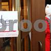 Kyle Bursaw – kbursaw@shawmedia.com<br /> <br /> A woman leaves the voting area at Westminster Presbyterian Church in DeKalb, Ill. on Tuesday, Nov. 6, 2012.